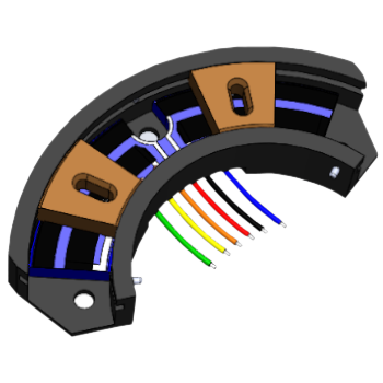 Arc Segment Potentiometer Open CAD