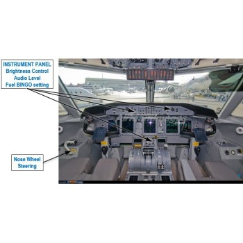 Commercial Flight Deck Examples