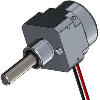 Square and Round Body Potentiometer Solidworks