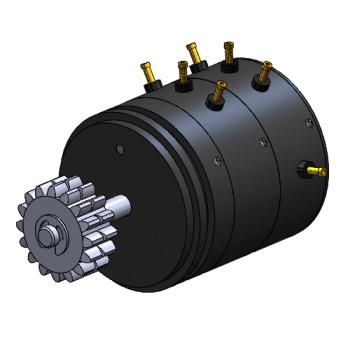 Geared Potentiometer CAD